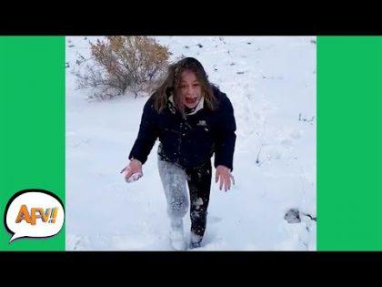 Frozen or FAILURE?! 😂❄️ | Funniest Fails | AFV 2019