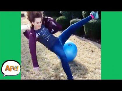 Talk About ROUGH LANDING! 🤣   Funniest Fails   AFV 2019
