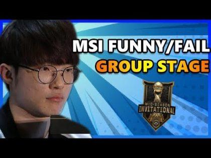 Top Funny & Fail Group Stage MSI Phần 3 – MÚA LỬA CÙNG MSI 2019   EVOS