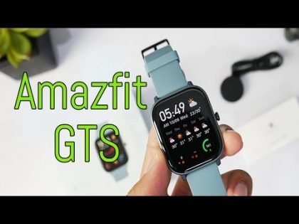 Amazfit GTS – Tech Hack | Gadget | Watches | Unboxing | First look | Smart watch | Watch review