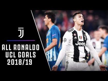 ALL CRISTIANO RONALDO CHAMPIONS LEAGUE GOALS 2018/19