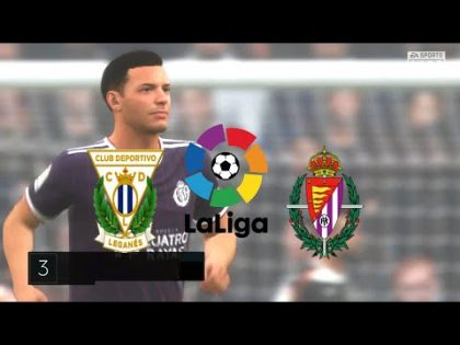 FIFA 20,Spain LaLiga,Leganés Vs Real Valladolid @Estadio Municipal de Butarque Round 28
