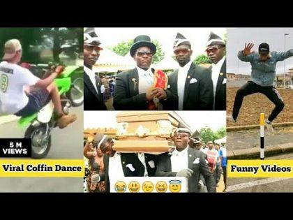 Viral Funeral Coffin Dance Video| Funny Bike Stunt fail| Coffin Dance Meme Compilation| Astronomia