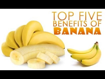 Top 5 Benefits Of Banana | Simple Health and Beauty Tips | Food