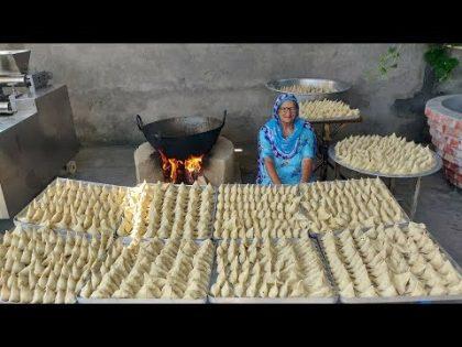 1000 SAMOSA RECIPE BY MY GRANNY | STREET FOOD | INDIAN RECIPES | PERFECT SAMOSA | POTATO RECIPES