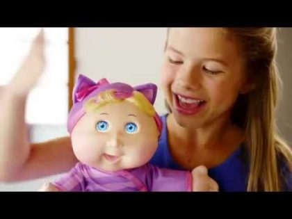 Cabbage Patch Kids Baby So Real TV Commercial