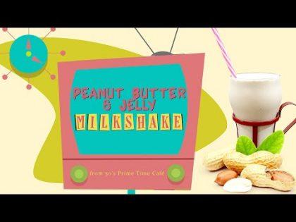 Peanut Butter & Jelly Milkshake | Walt Disney World Food Recipe