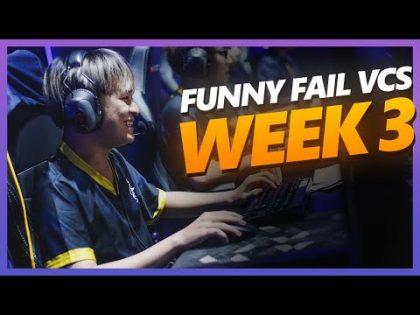 Top Funny & Fail VCS mùa hè 2020 TUẦN 3 – MÚA LỬA CÙNG VCS | EVOS