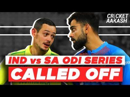 INDIA vs SA ODI series CALLED OFF   Cricket Aakash   COVID-19 News