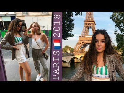 TRAVEL VLOG – 5 DAYS IN PARIS 🇫🇷🍷 SUMMER 2018