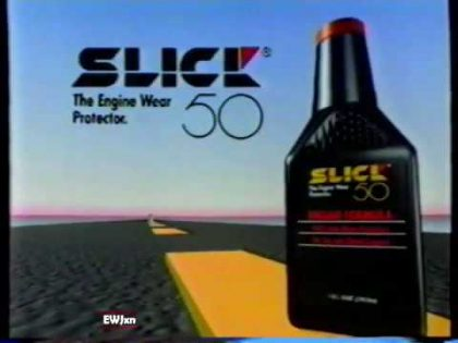 "1992 Slick 50 ""Reduced Engine Wear"" TV Commercial"
