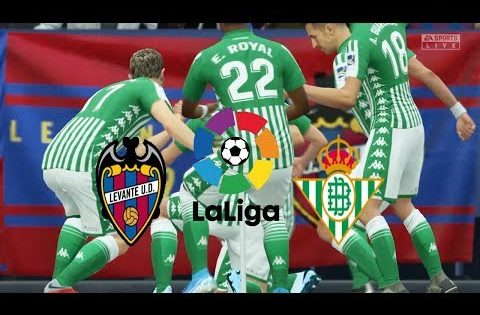 FIFA 20,Spain LaLiga,Vavente FC Vs Real Betis @The National Olympic Stadium Round 27 Round 27