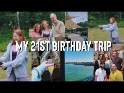 MY 21st BIRTHDAY TRIP   Martha's Vineyard   Travel Vlog
