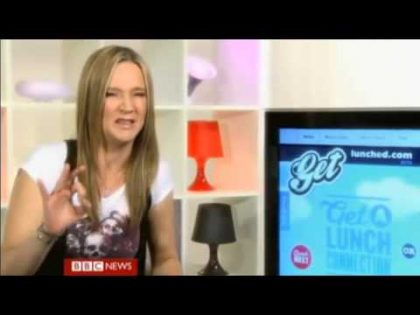 Get Lunched featured on BBC World News – Click getlunched review