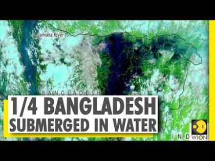 Bangladesh floods | NASA images reveal stark flood situation | World News