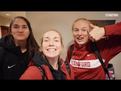 Stanford Women's Volleyball: Final Four Travel Vlog   Jenna Gray