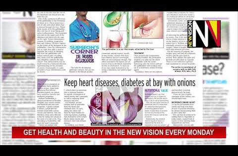 Get Health and Beauty Pullout in the New Vision July 27 2020