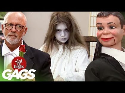 Terrifying Ghosts, Harpoon Accidents, & Living Puppets  | JFL Throwback Pranks