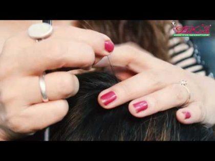 Hair Tinsel Tutorial || Step By Step || Dks Academy Health and Beauty