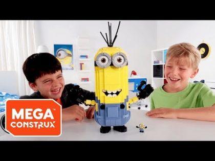 Build-A-Minion TV Commercial | Minions | Mega Construx