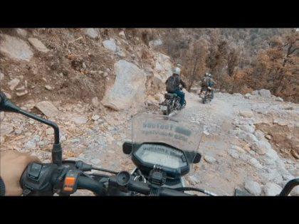 Xpulse 200 riding with royal enfield bullet    Travel Vlog to Namik    Uttarakhand