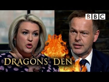 Epic bidding war breaks out in the Den 💷 | Dragons' Den – BBC