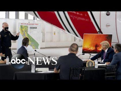16,000 firefighters battle California blazes | WNT