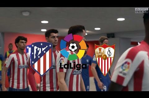 FIFA 20,Spain LaLiga,Atlético Madrid Vs Sevilla @Wanda Metropolitano Stadium Round 27