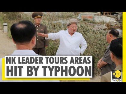 Kim Jong Un tours Typhoon ravaged areas of North Korea | World News | WION News