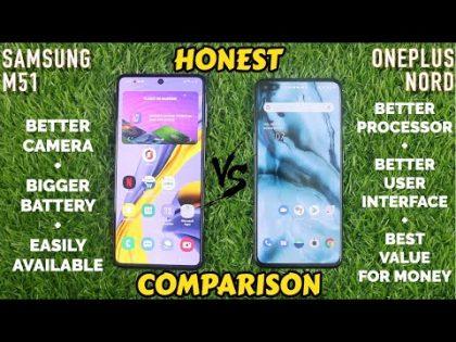 Samsung M51 VS OnePlus Nord Comparison Review | Kon Hai Asli Killer