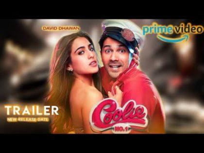 Coolie No. 1 Movie Trailer   Varun Dhawan, Sara Ali Khan, Coolie No. 1, ABCD 4 Trailer #Judwaa3