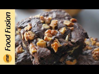 Walnut Brownie  Recipe By Food Fusion