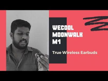 Wecool Moonwalk M1 | True Wireless Earbud | Gadget Review