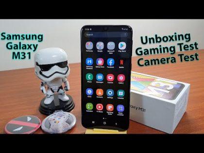 Samsung Galaxy M31 Unboxing | 6000mAh Battery 🔋🔋🔋 | Gaming Test | Camera Test | Gadget Bridge Hindi