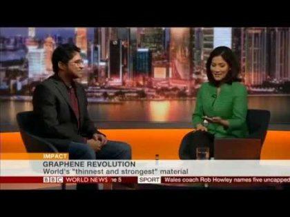 Graphene Revolution – Interview on BBC World News