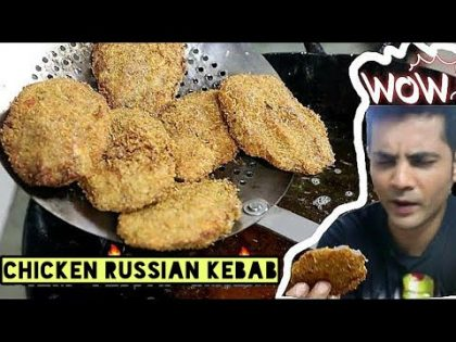 how to make CHICKEN Kebab Starter  | Chicken Kebab Street Food Recipe | My kind of Productions