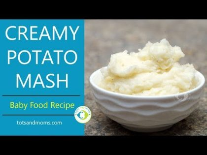 Potato Mash for Babies | Weight Gaining 8 months Baby Food Recipe