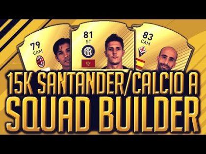 FIFA 17│15K AMAZING LA LIGA/CALCIO A SQUAD BUILDER!!