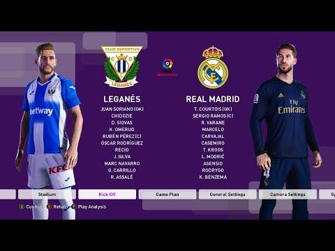 Leganes vs Real Madrid  LaLiga Week 38   PES20PC
