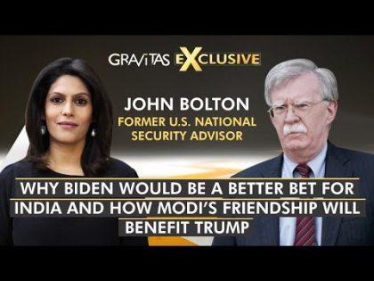 Gravitas: John Bolton: Close ties with Modi will help Trump | World News | WION News