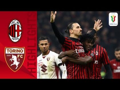 Milan 4-2 Torino   Ibra Extra-Time Goal Send Milan to Semifinals   Quarter-final   Coppa Italia