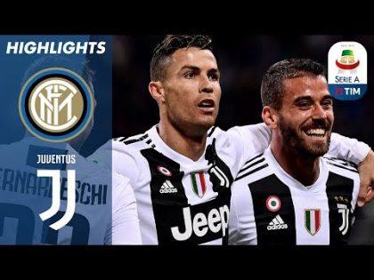 Inter 1-1 Juventus   Ronaldo Equaliser Denies Inter the Win   Serie A