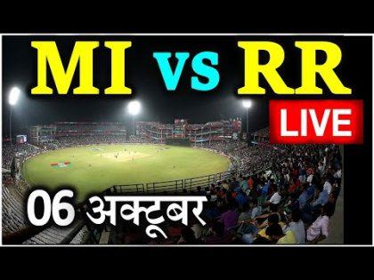 MI vs RR Live Cricket Score, IPL 2020 Today Match Live Mumbai Indians vs Rajasthan Royals online