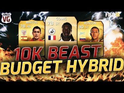 FIFA 15 10K – 20K Squad Builder BPL La Liga BBVA Russian League hybrid – ft Rondon Gomis Valbuena