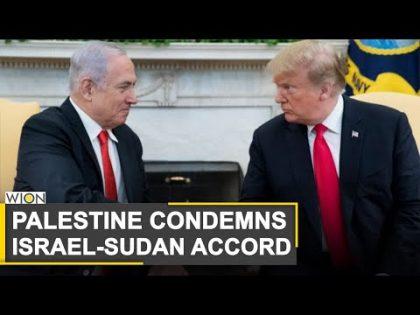 Palestinians condemn Israel-Sudan diplomatic ties | West Asia | Donald Trump | World News