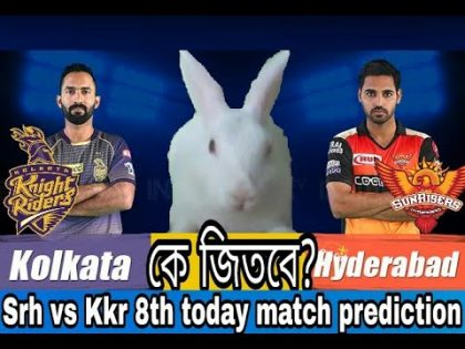 IPL2020 8th MATCH PREDICTION    KKR vs SRH   DREAM11   cricket news king