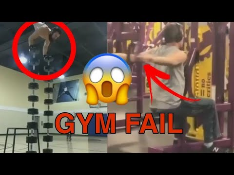 Funny 😁 Gym💪 Fail Compilation 2020    Stupid 😝  people gym fail compilation   try to Not Laugh