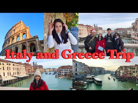 Italy and Greece Travel Vlog   Travel With Me