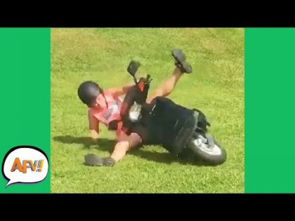 That's Gonna Leave a SKID MARK! 😅  | Funny Fails | AFV 2020