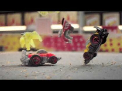 Boom City Racers S1 20 Second TV Commercial | Rip, Race, Explode!